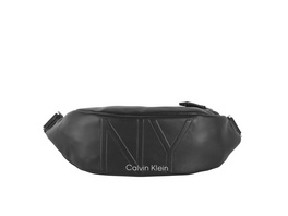 Calvin Klein Bauchtasche NY Shaped Waistbag MD black