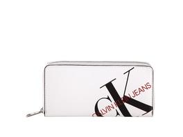 Calvin Klein Langbörse Damen Zip Around Island Punch white