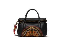 Desigual Kurzgriff Tasche African Mandala Loverty black