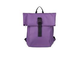 Bree Damenrucksack Punch 92 pat. purple