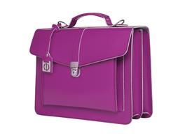 CEEVEE Leather Aktentaschen Catchall III purple