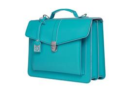 CEEVEE Leather Aktentaschen Catchall III turquoise
