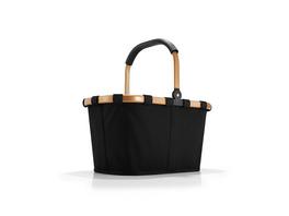 reisenthel Einkaufskorb carrybag einfarbig 22l schwarz/gold