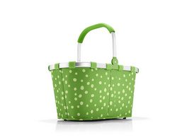 reisenthel Einkaufskorb carrybag gemustert 22l spots green