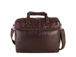 """Sattlers & Co. Laptoptasche The Barn Misterio 15"""" brown"""
