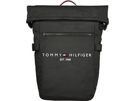"""Tommy Hilfiger Laptop Rucksack TH Established Rolltop Backpack 15,6"""" black"""