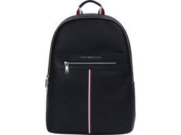 "Tommy Hilfiger Laptop Rucksack TH Downtown Backpack 18""  black"