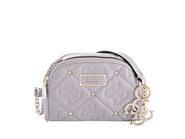Guess Umhängetasche Shanina Mini XBody Double Zip cloud