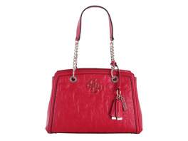 Guess Kurzgrifftasche New Wave Luxury Satchel red